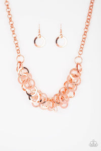 Paparazzi Accessories ~ Ringing In The Bling - Copper