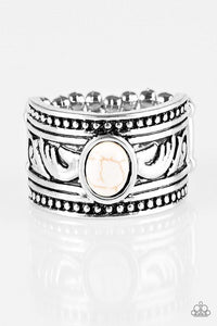 Paparazzi Ring - Be the Sparkle - White