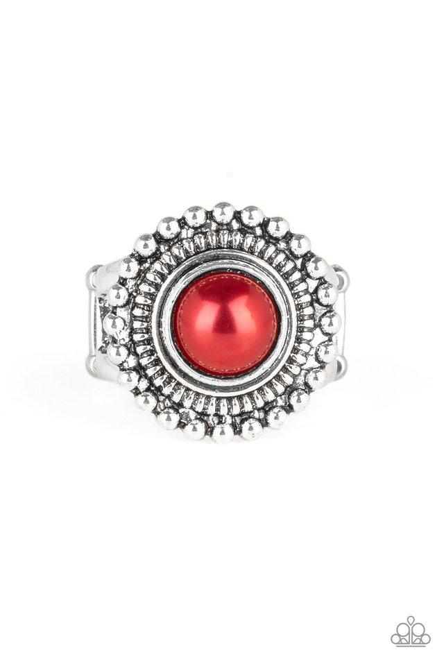 Paparazzi Accessories ~ Regal Royal - Red