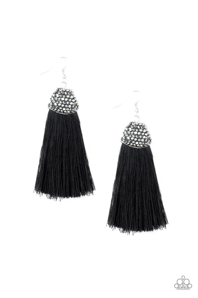 Paparazzi Accessories ~ Razzle Riot - Black