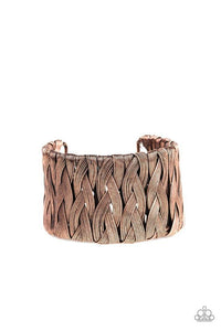 Paparazzi Accessories ~ Take It or WEAVE It - Copper