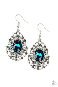 Paparazzi Accessories ~ Regal Razzle - Blue