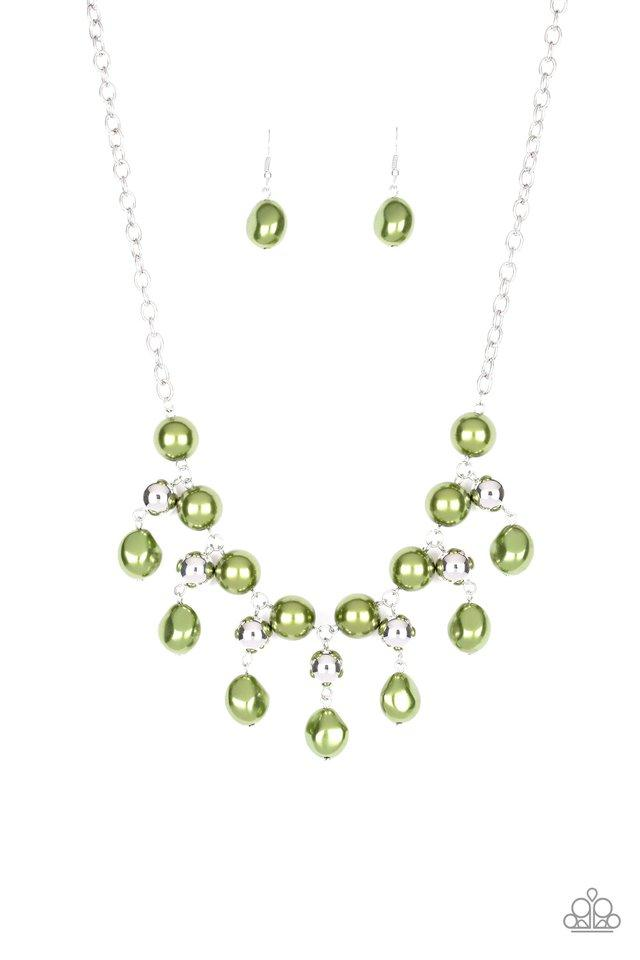 Paparazzi Accessories ~ Queen Of The Gala - Green