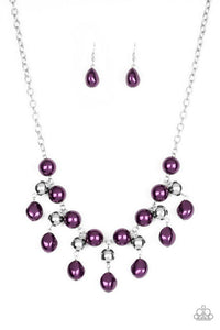 Paparazzi Accessories ~ Queen Of The Gala - Purple