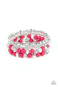 Paparazzi Accessories ~ Socialize - Pink
