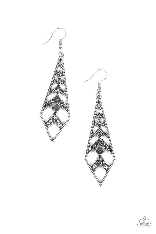 Paparazzi Accessories ~ Flared Flair - Silver