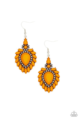 Orange Paparazzi Earrings