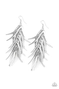Paparazzi Accessories ~ Tasseled Talons - Silver