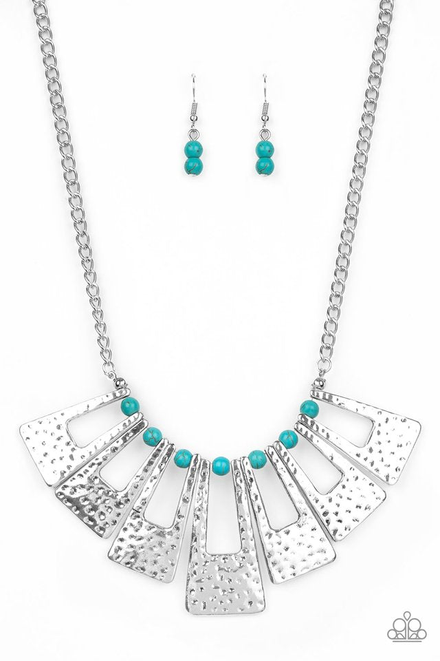 Paparazzi Necklace ~ Terra Takeover - Blue