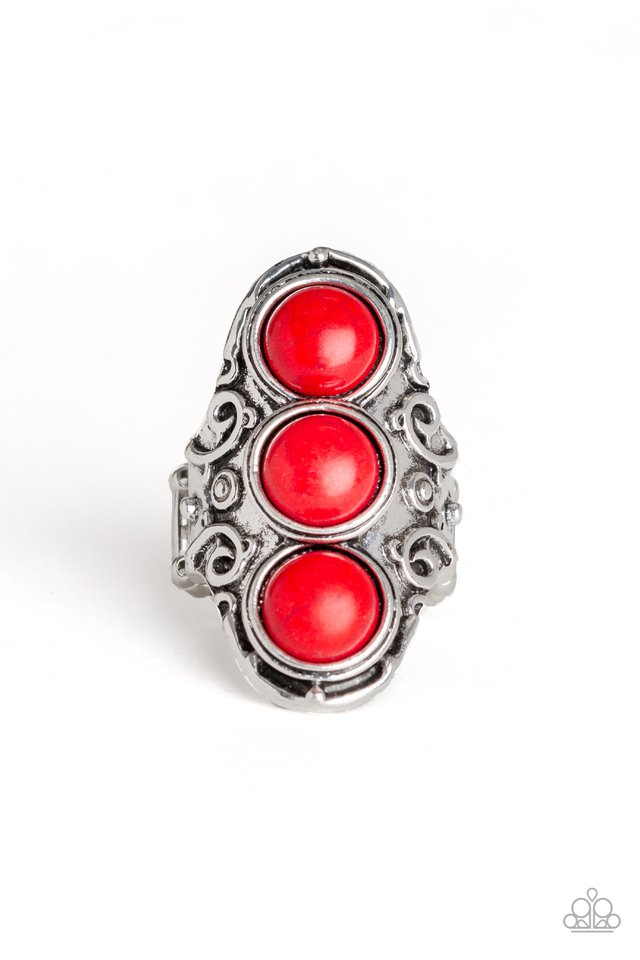 Paparazzi Ring ~ Sahara Soul - Red