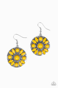 Paparazzi Accessories ~ Petal Paradise - Yellow