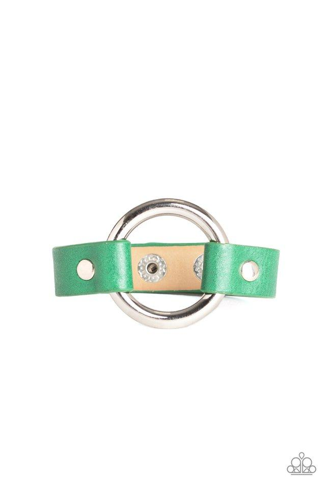Paparazzi Accessories ~ Rustic Rodeo - Green