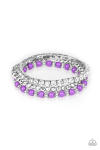 Paparazzi Accessories ~ Fashion Forte - Purple