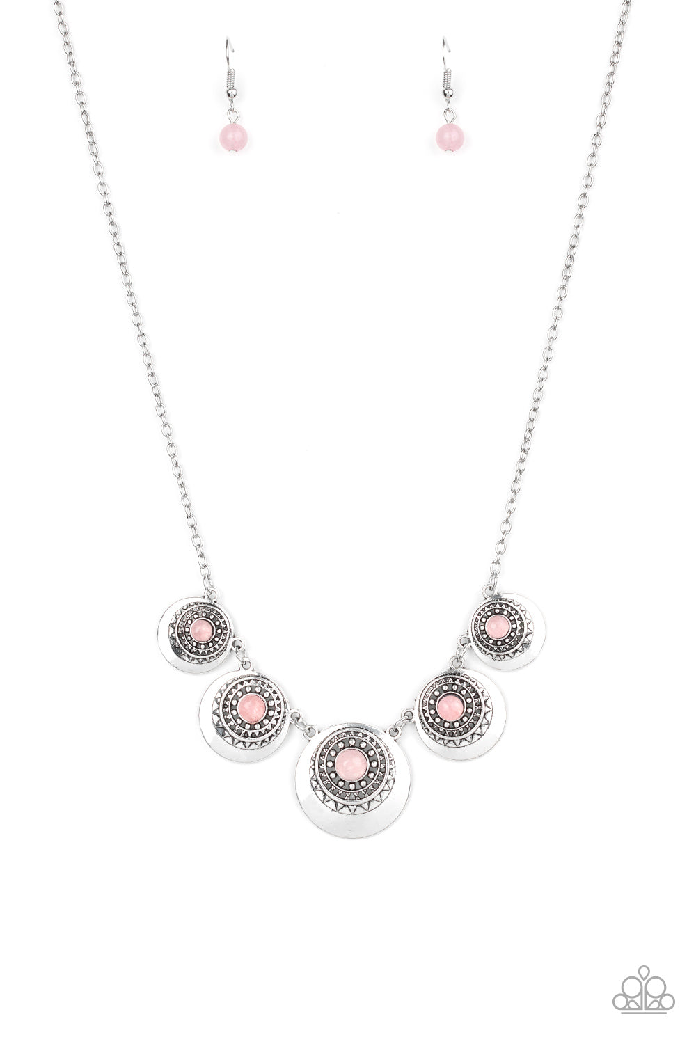 Paparazzi Necklace ~ Solar Beam - Pink