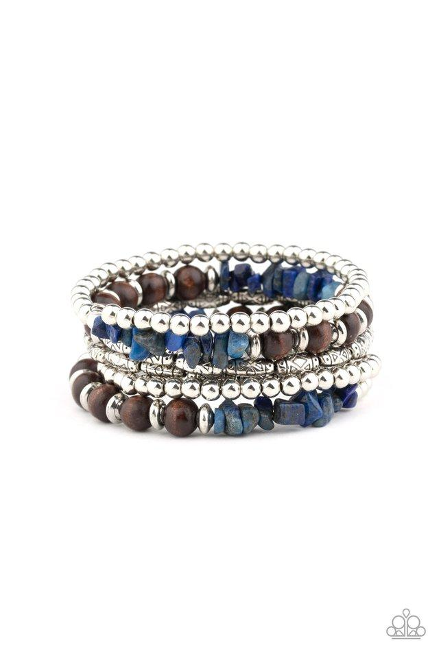 Paparazzi Accessories ~ Soul Searchin - Blue