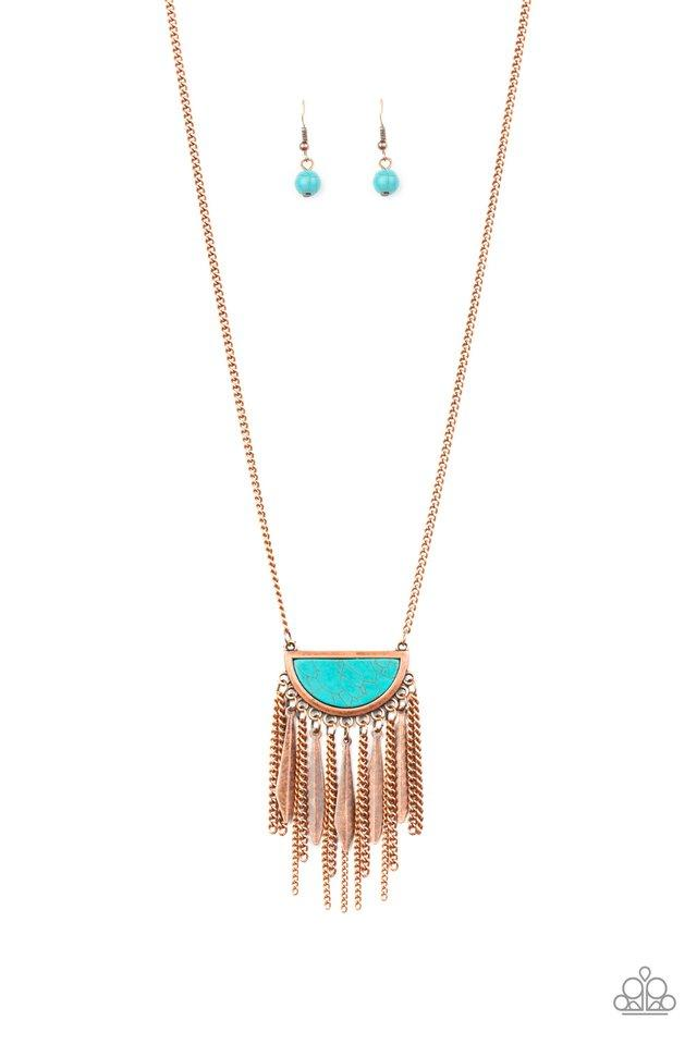 Paparazzi Necklace ~ Desert Hustle - Copper
