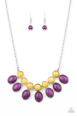 Environmental Impact - Purple - Paparazzi Necklace Image