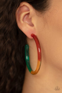 Paparazzi Earring ~ Awesome Aura - Multi