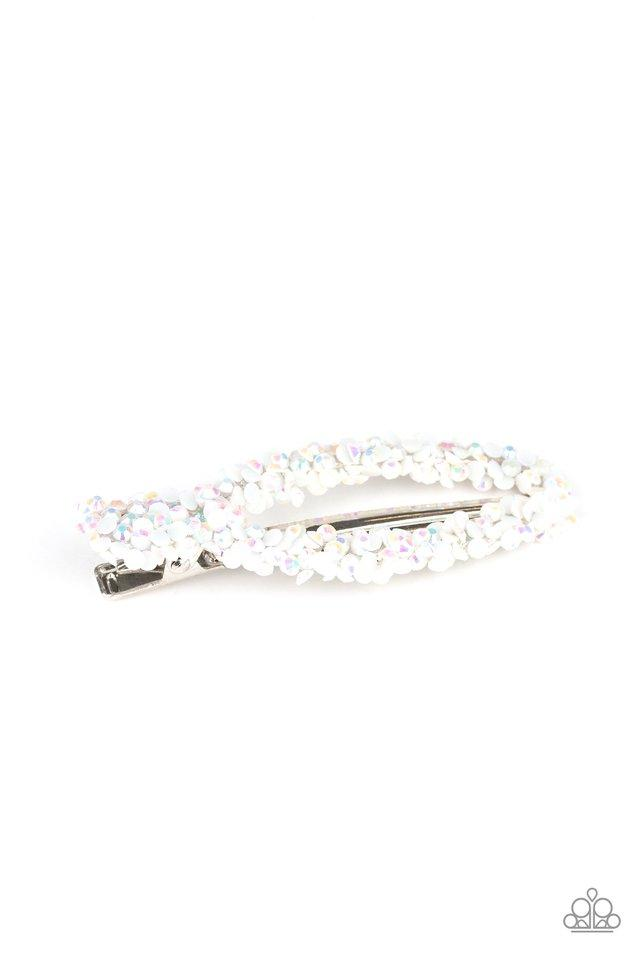 Paparazzi Accessories ~ Dusted In Dazzle - White