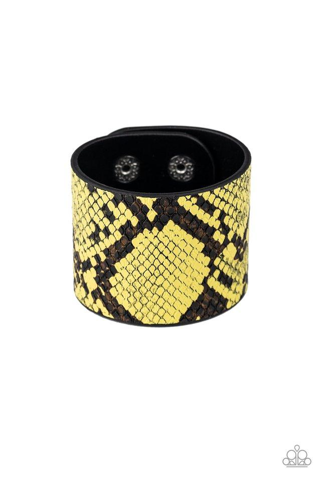 Paparazzi Bracelet ~ The Rest Is HISS-tory - Yellow