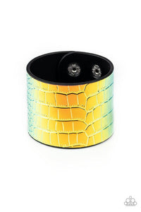 Paparazzi Accessories ~ Chroma Croc - Multi