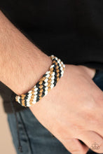 Load image into Gallery viewer, Paparazzi Bracelet ~ WEAVE No Trace - Black