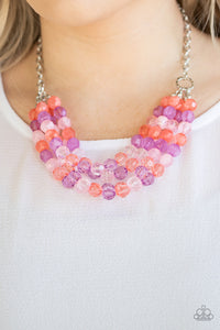 Paparazzi Necklace ~ Summer Ice - Multi