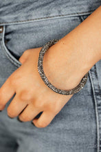 Load image into Gallery viewer, Paparazzi Bracelet ~ Stageworthy Sparkle - Black