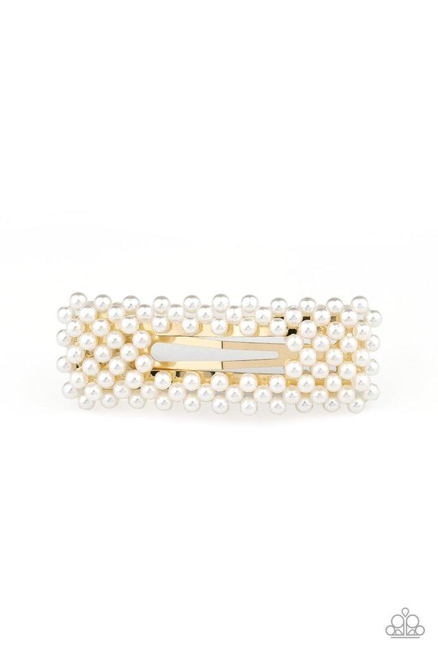 Paparazzi Accessories ~ Clutch Your Pearls - Gold