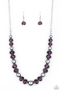 Jewel Jam - Purple - Paparazzi Necklace Image