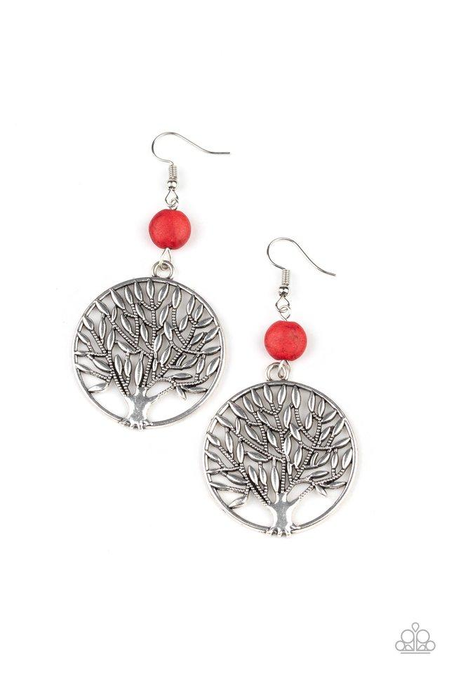 Paparazzi Accessories ~ Bountiful Branches - Red