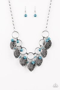 Paparazzi Necklace ~ Very Valentine - Blue