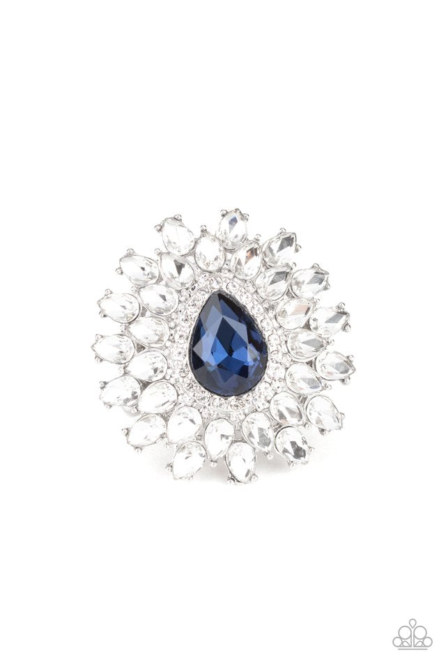 Paparazzi Ring ~ Whos Counting? - Blue
