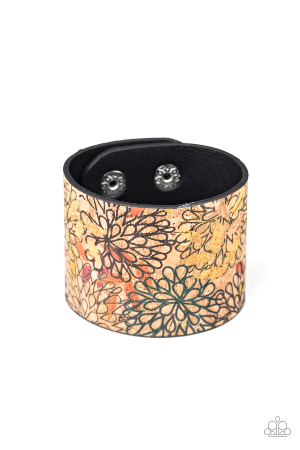 Paparazzi Bracelet ~ Cork Culture - Multi