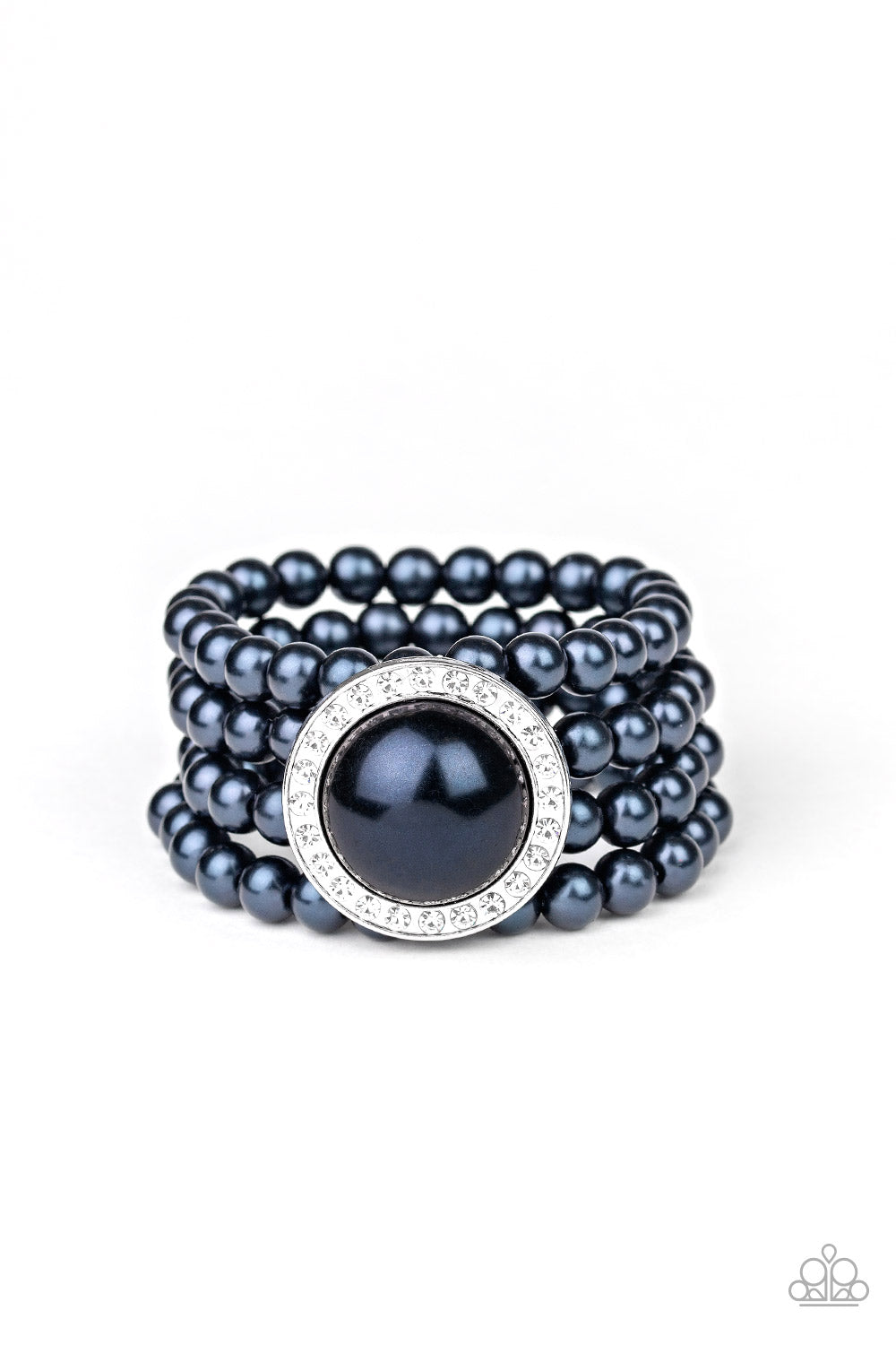 Paparazzi Bracelet ~ Top Tier Twinkle - Blue