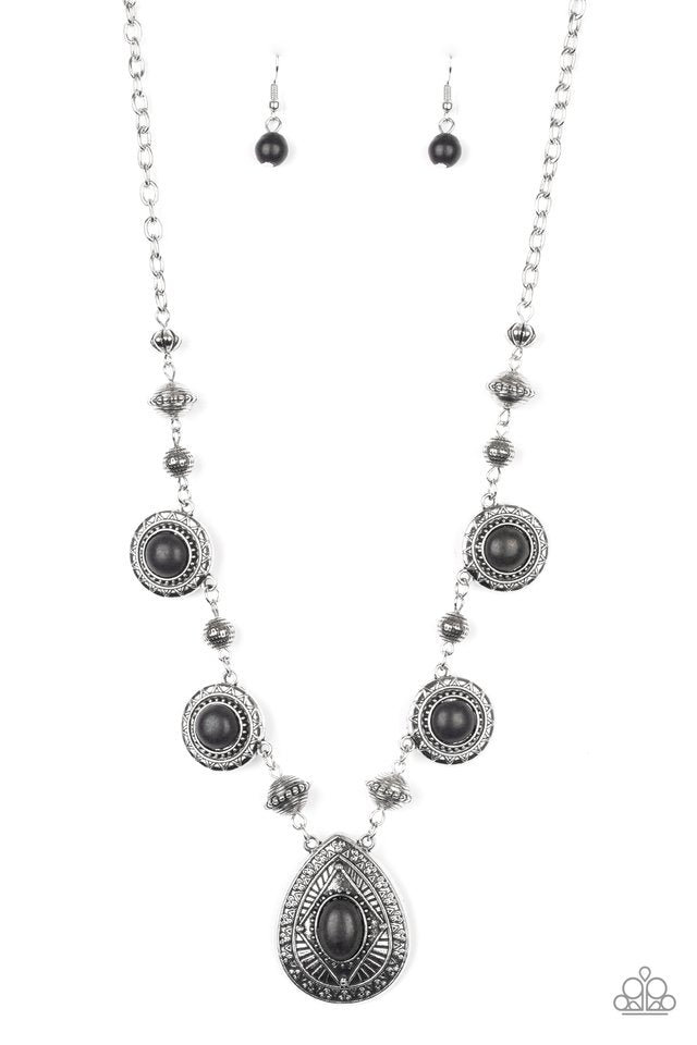 Paparazzi Necklace ~ Mayan Magic - Black