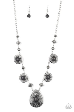 Mayan Magic - Black - Paparazzi Necklace Image