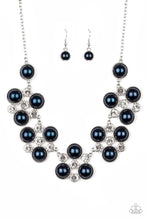Load image into Gallery viewer, Night at the Symphony - Blue - Paparazzi Necklace Image