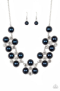 Night at the Symphony - Blue - Paparazzi Necklace Image