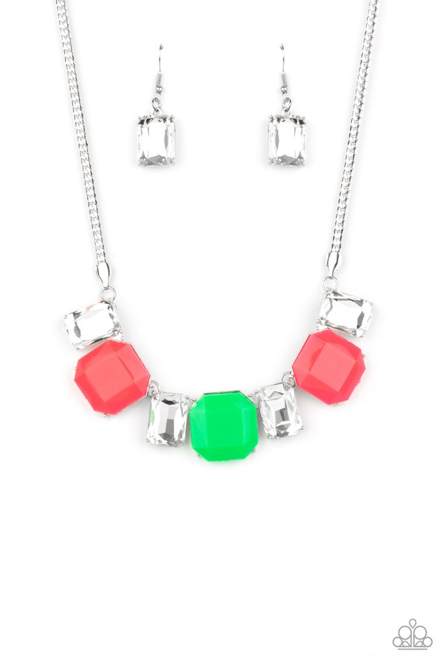Paparazzi Necklace ~ Royal Crest - Pink