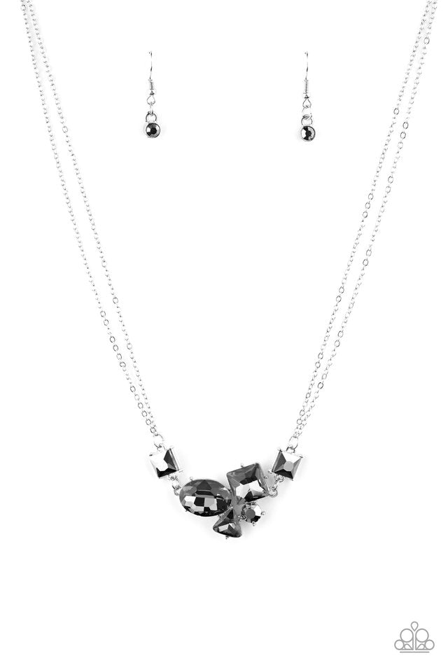 Paparazzi Necklace ~ Constellation Collection - Silver