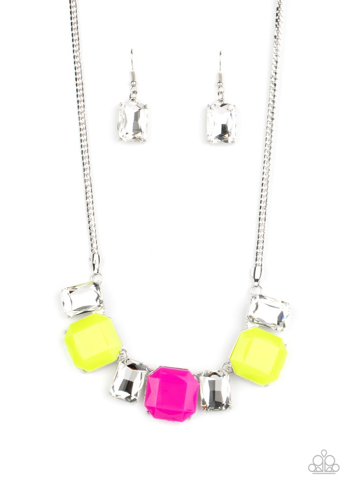 Paparazzi Necklace ~ Royal Crest - Yellow