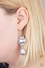 Load image into Gallery viewer, Paparazzi Earring ~ Icy Shimmer - Silver
