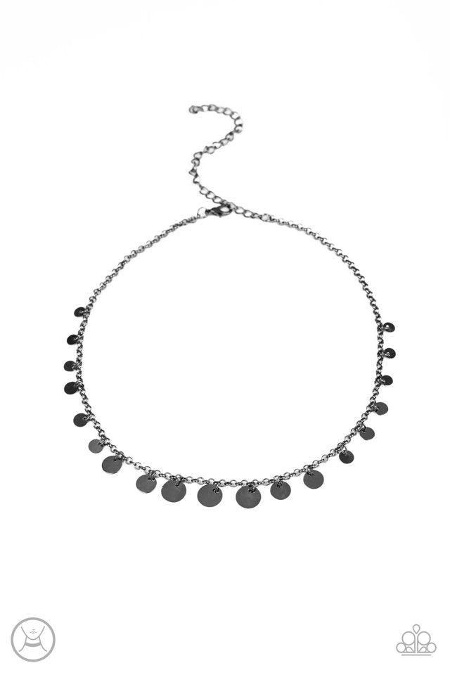 Paparazzi Necklace ~ Minimal Magic - Black