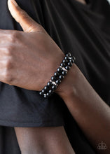 Load image into Gallery viewer, Downtown Debut - Black - Paparazzi Bracelet Image