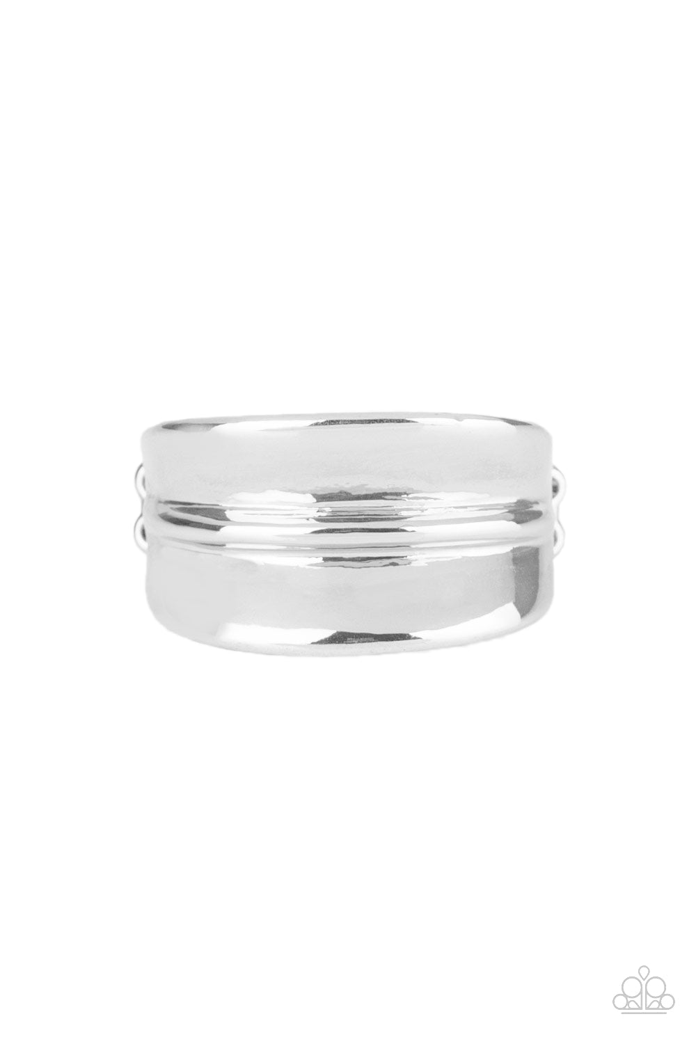 Paparazzi Ring ~ Band Together - Silver