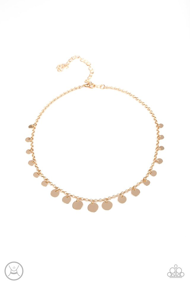 Paparazzi Necklace ~ Minimal Magic - Gold