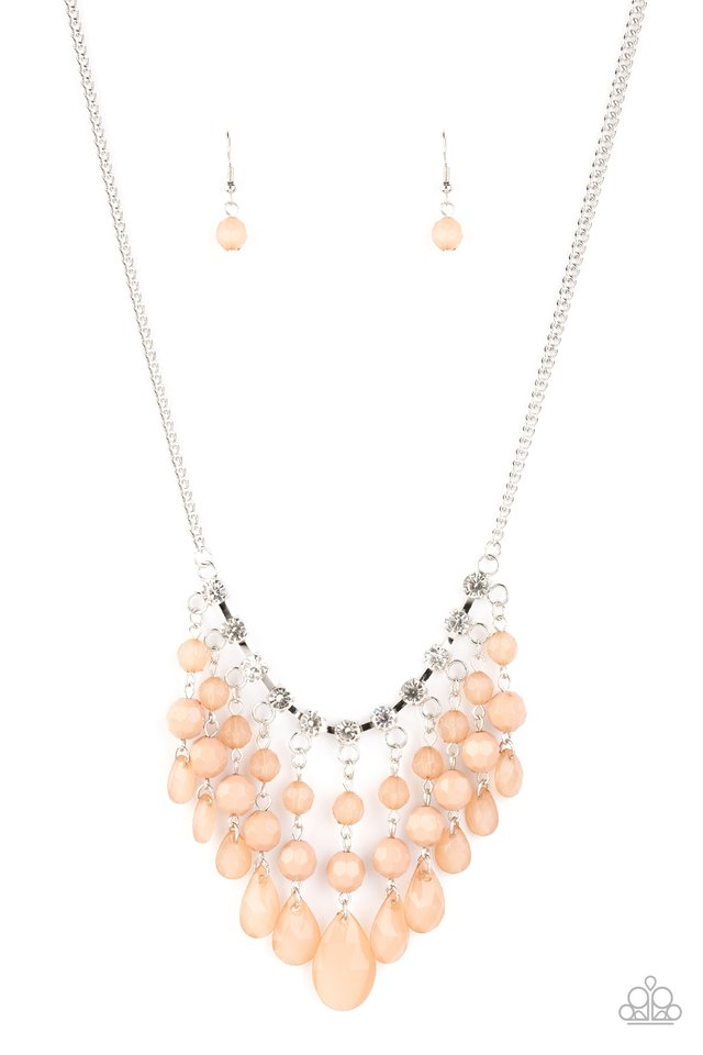 Paparazzi Necklace ~ Social Network - Brown