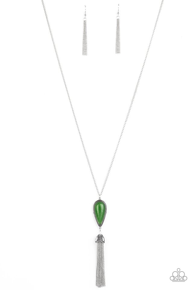 Zen Generation - Green - Paparazzi Necklace Image