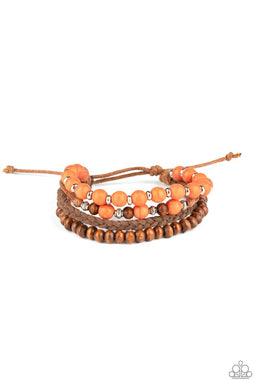 Renewable Energy - Orange - Paparazzi Bracelet Image